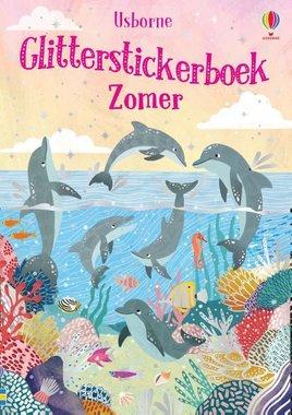 Glitterstickerboek zomer / Usborne