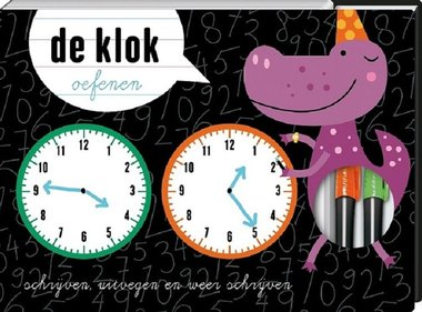 De klok oefenen. 5+ / Image Books