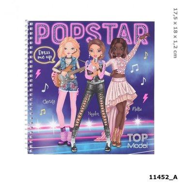 Dress Me Up stickerboek POPSTAR / TOPModel