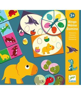 Bingo  Memo Domino - Dino's / Djeco