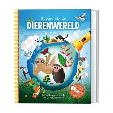 Zaklampboek- Speuren in de dierenwereld / Lantaarn