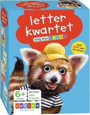Letterkwartet, veilig leren lezen 6+ / Zwijsen