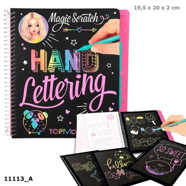 Magic-Scratch Book Hand Lettering / TOPModel