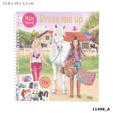 Dress me up (paarden) / Miss Melody