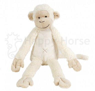 Knuffel aap Ivory Monkey Mickey no. 2 / Happy Horse