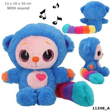 Knuffel Pooby blauw met geluid / Ylvi & the Minimoomis