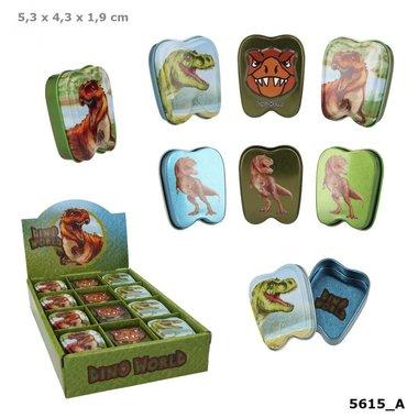 Dino blikje (tandendoosje) / Dino World