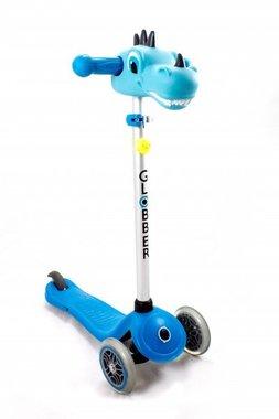 Dino kop step (Scooter Head Dino blue) / Globber