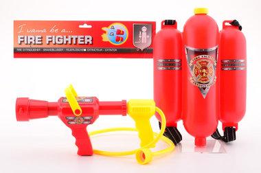 Brandweer waterpomp