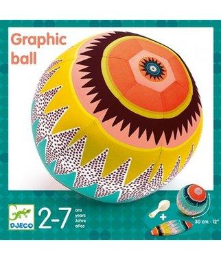 Grafische stoffen ball / Djeco