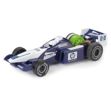 Racewagen Formule-1 (blauw) / Darda