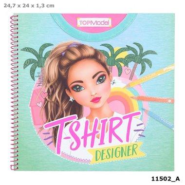 T-shirt Designer kleuboek / TOPModel