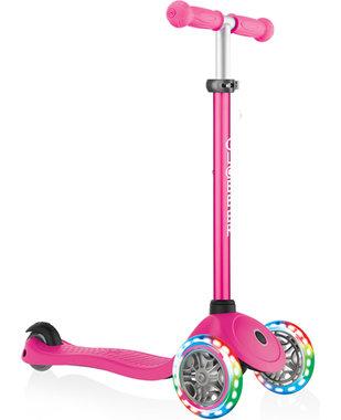 Primo V2 Lights step pink (3-8 jaar) / Globber