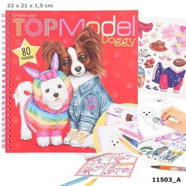 Create you Doggy kleurboek / TOPModel