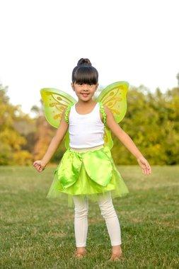 Tinker bell tule rok met vleugels (4-7 jaar) / Great Pretenders