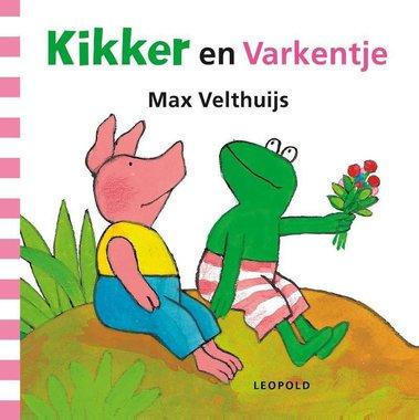 Kikker en Varkentje ( kartonboek). 2+/ Max Velthuijs