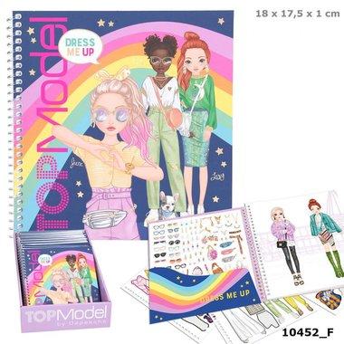 Dress Me Up Stickerbook (10452_F) / TOPModel