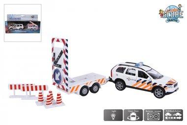 Volvo politieauto met bebakening / Kids Globe