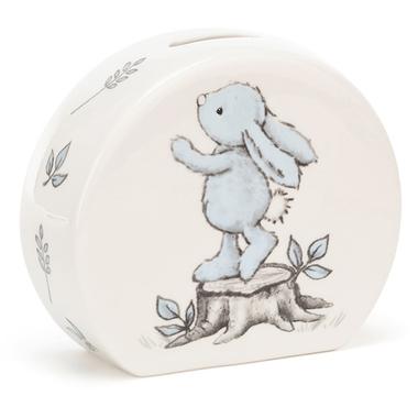 Bashful Blue Bunny Money Box / JellyCat