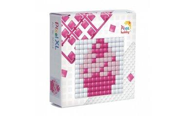 Pixel XL doosje Cupcake / Pixelhobby