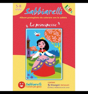 Zandkaarten Prinsessen / Sabbiarelli
