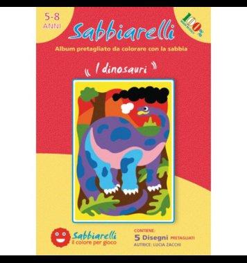 Zandkaarten Dino's / Sabbiarelli