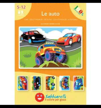 Zandkaarten Auto's / Sabbiarelli