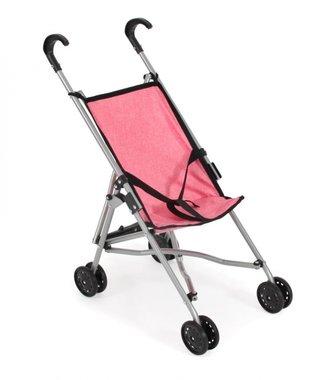 Poppenbuggy Roma (roze) / Bayer Chic