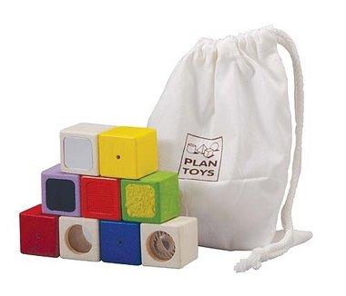 Activiteiten blokken / Plan Toys