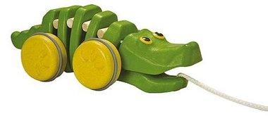 Trekdier dansende krokodil / PlanToys