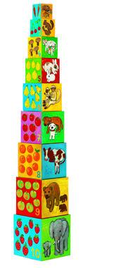 Stapelblokken Dierenvrienden / Djeco