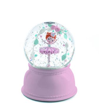 Nachtlamp en sneeuwbol Ballerina / Djeco