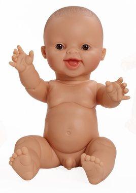 Baby jongenspop blank lachend / Paola Reina