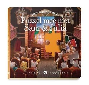 Het Muizenhuis: Puzzel mee met Sam & Julia 3+ / Karina Schaapman