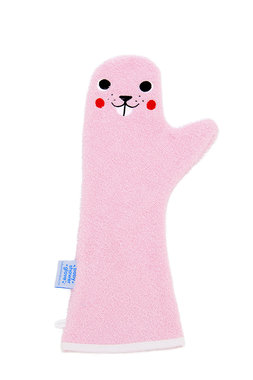 Washandschoen Bever (Beaver) / Baby Shower Glove