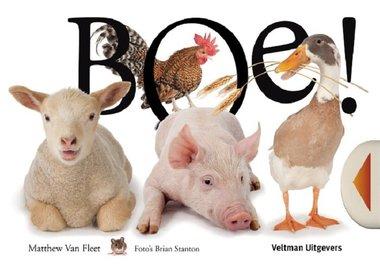 Boe! Kijk- en voelboek / Veltman