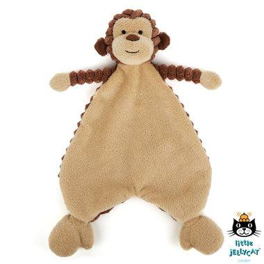 Aapje knuffeldoekje Cordy Roy Baby Monkey Soother / JellyCat