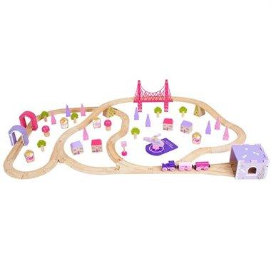 Feeën Stad Trein Set / BigJigs