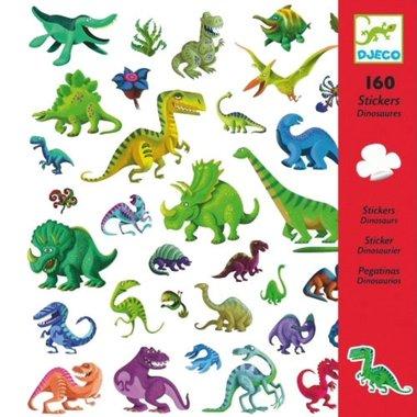 160 stickers dino's / Djeco