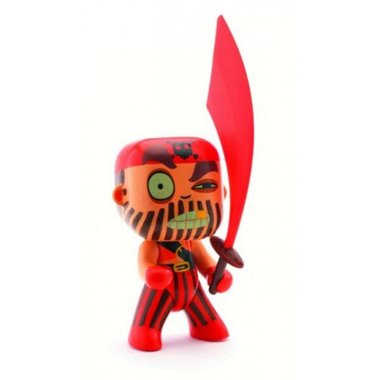 Arty Toys - Piraat Captain red / Djeco