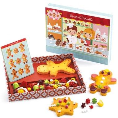 DJ06516 Gingerbread Oscar & Cannelle / Djeco