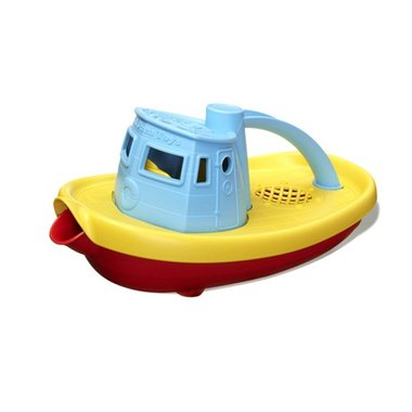 Sleepboot (blauw handvat) / Green Toys