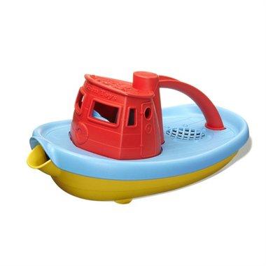 Sleepboot (rood handvat) / Green Toys