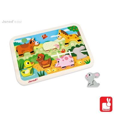 Chunky puzzel - boerderij / Janod