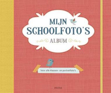 Mijn schoolfoto's album (oranje-rood) / Deltas