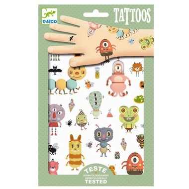 Tattoos Monsters / Djeco