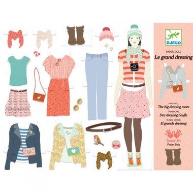 Aankleedpoppen Grote garderobe  / Djeco
