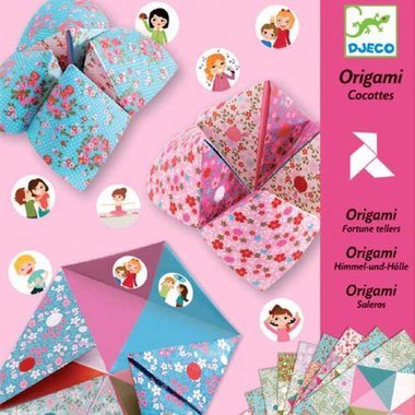 Origami Vogelspel pastel / Djeco