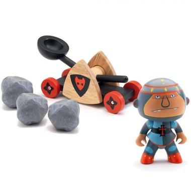 Arty Toys - Ridder Baldy Pig & Paf / Djeco