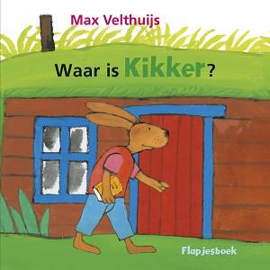 Waar is Kikker (kartonboek met flapjes) 2+ / Max Velthuijs